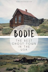 Bodie Ghost Town Travel Blog