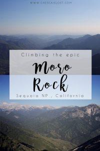 Climbing Moro Rock Blog