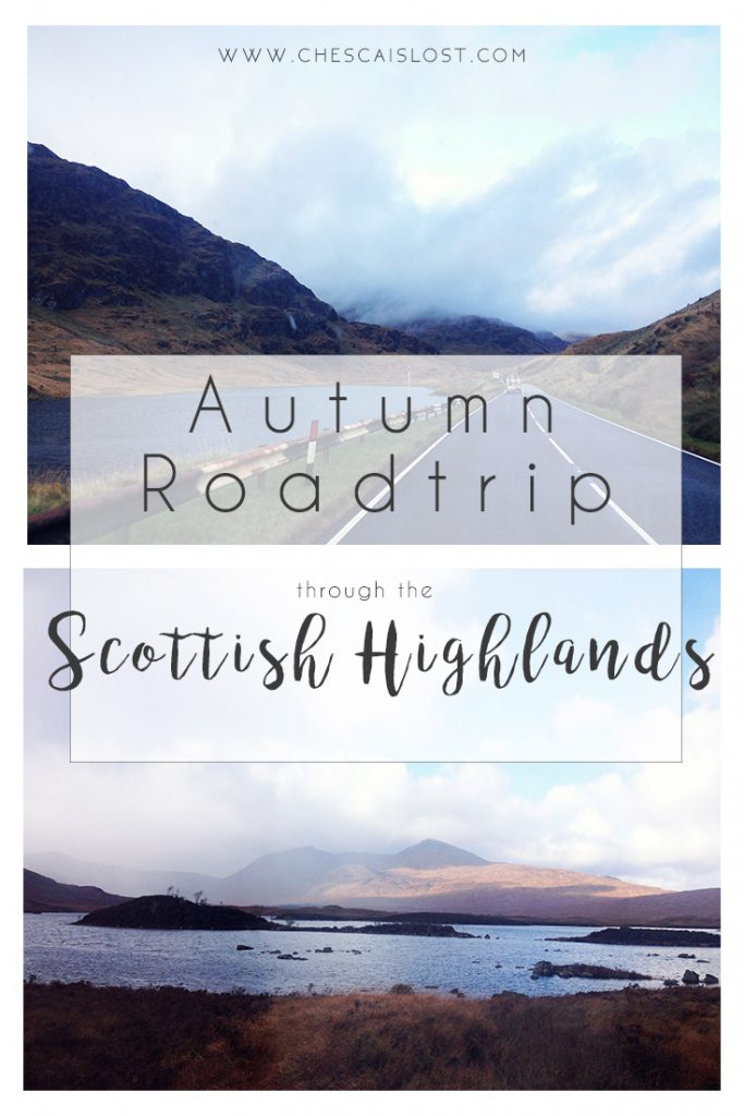 Autumn Roadtrip Scottish Highlands Blog