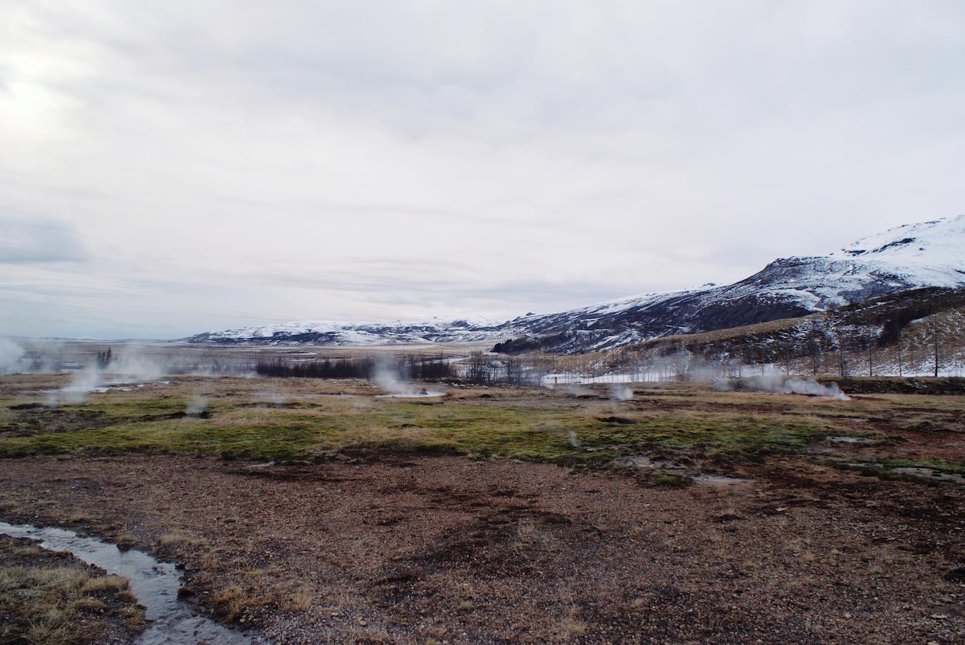 Haukadalur Geothermal Field