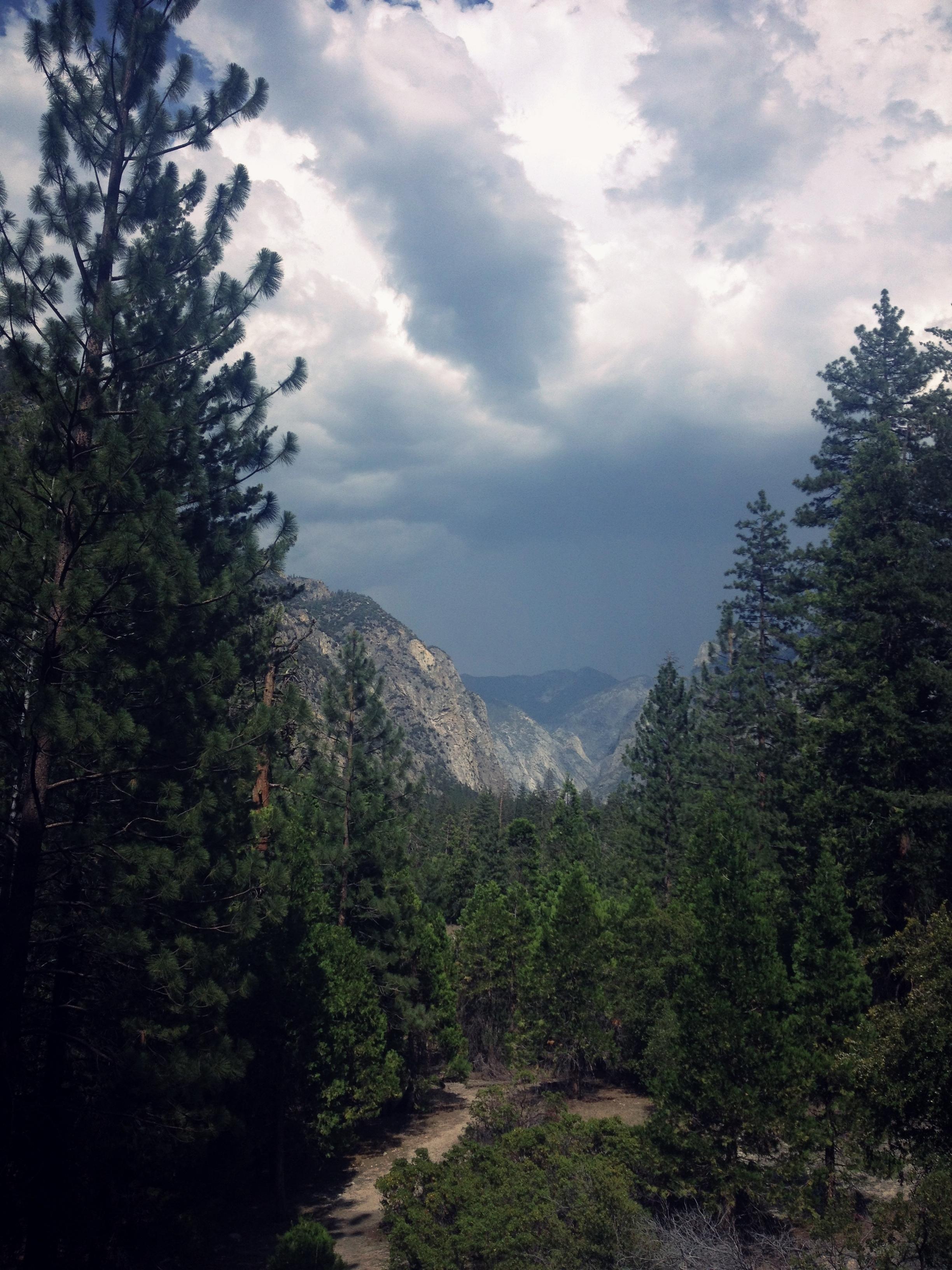 Mountain Vista in Kings Canyon, California