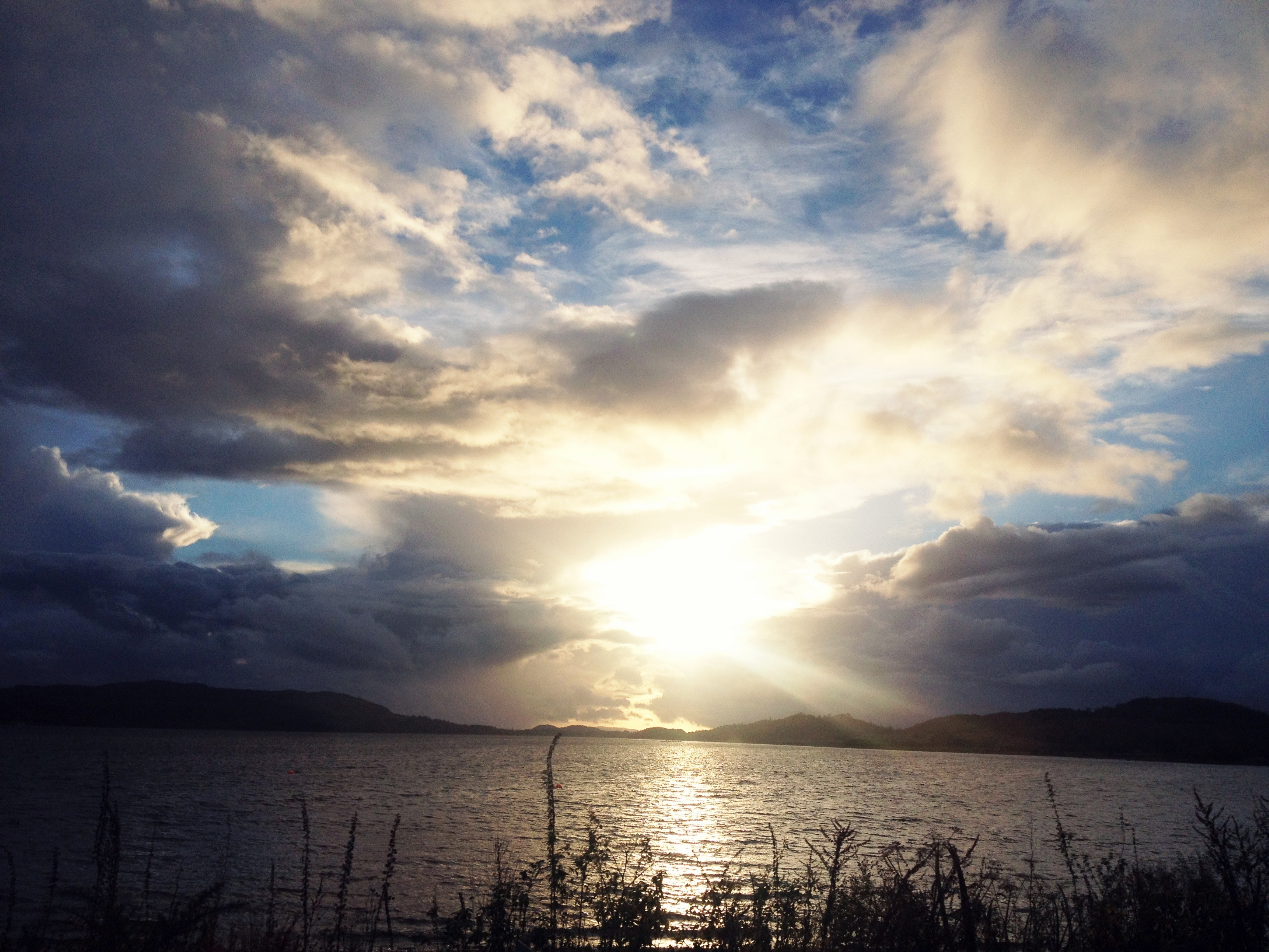 Sunset over Loch Lomond, Scotland