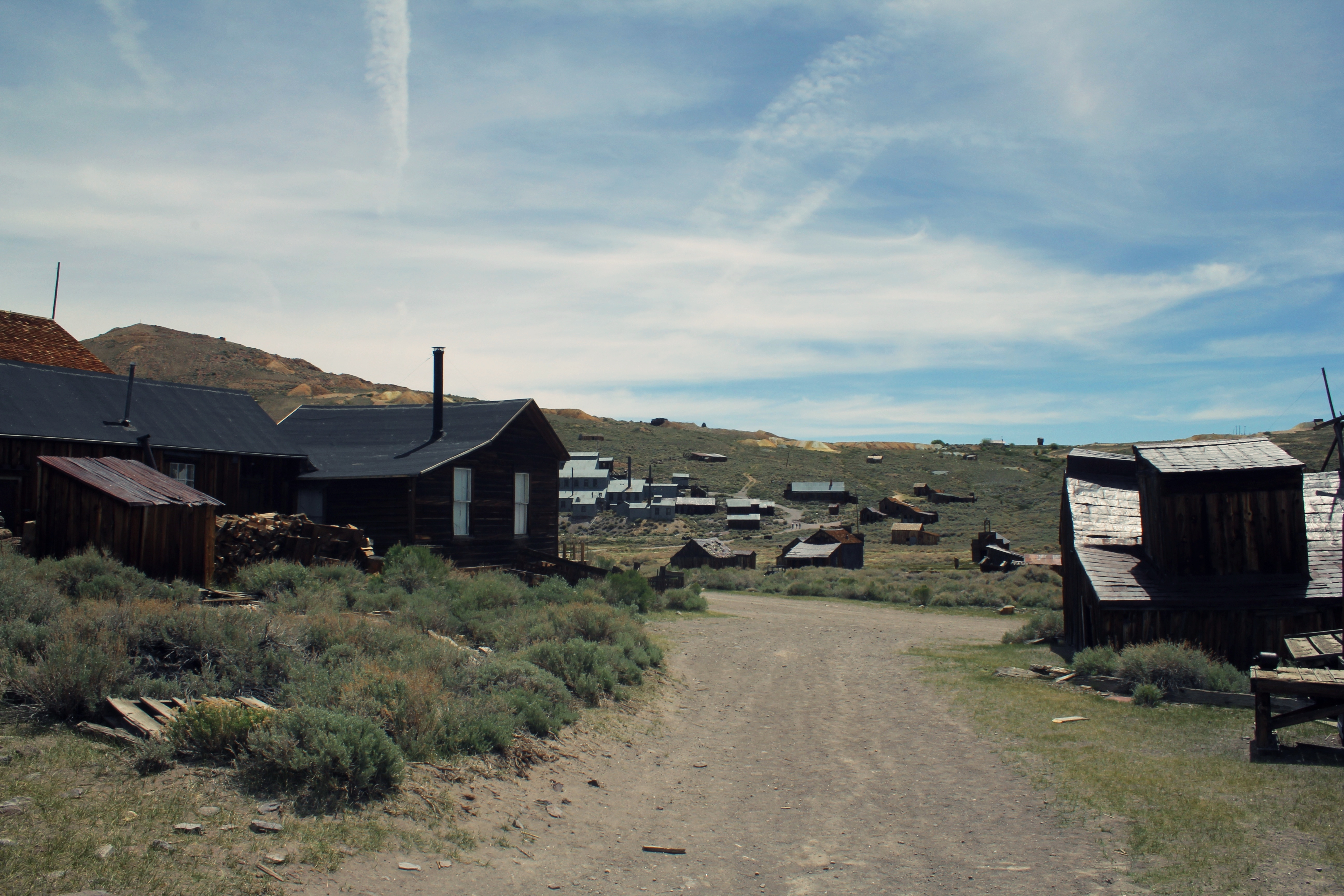 Abandoned Gold Mining Town, Bodie, California