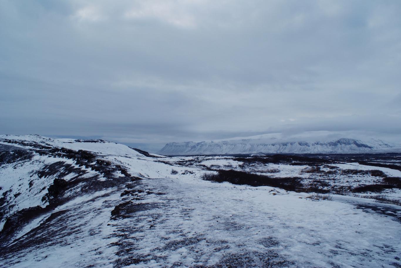 Winter Iceland Landscapes