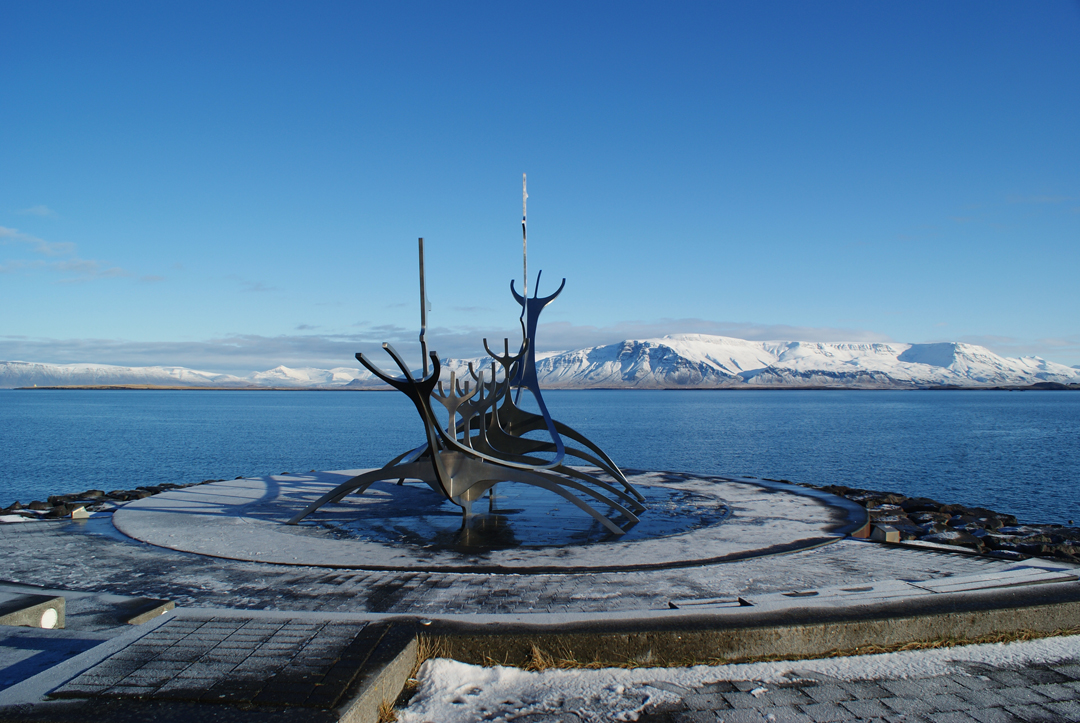 Sun Voyager Monument, Iceland
