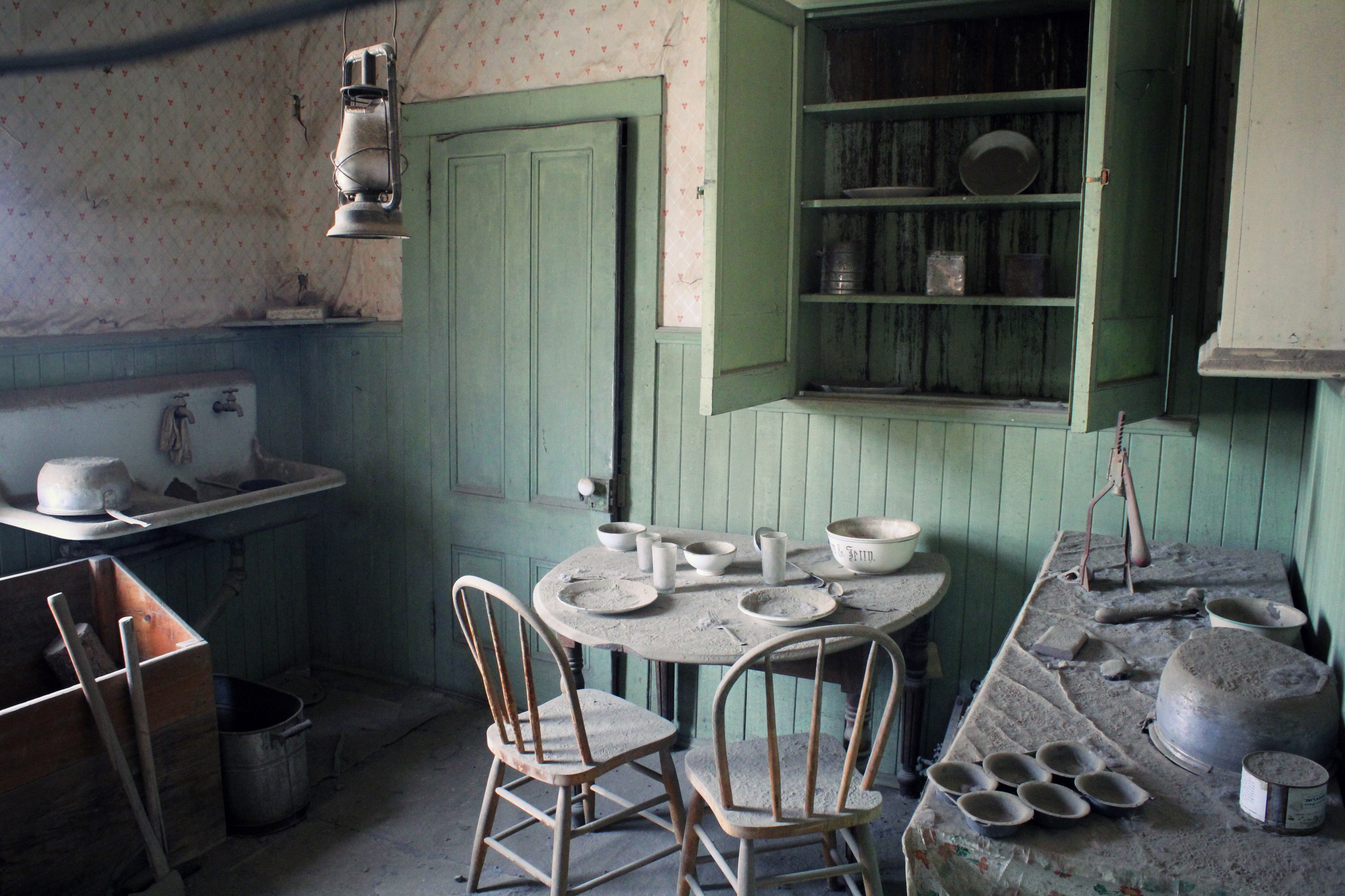Inside an Abandoned House, Bodie Ghost Town