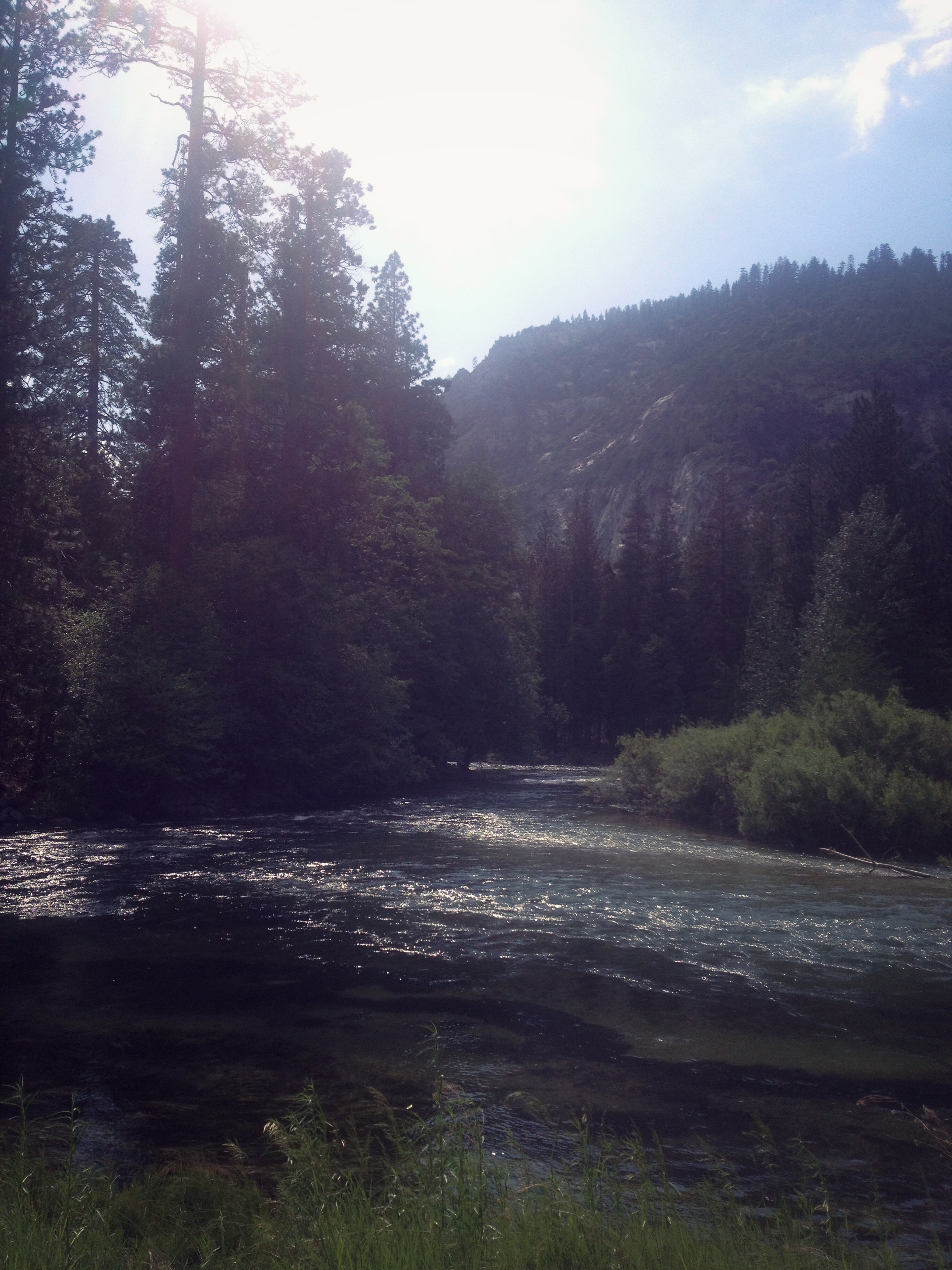 River in King's Canyon California