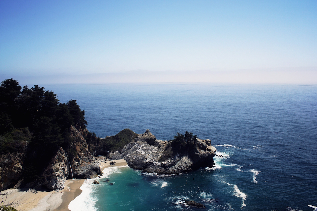 McWay Falls on Big Sur, California