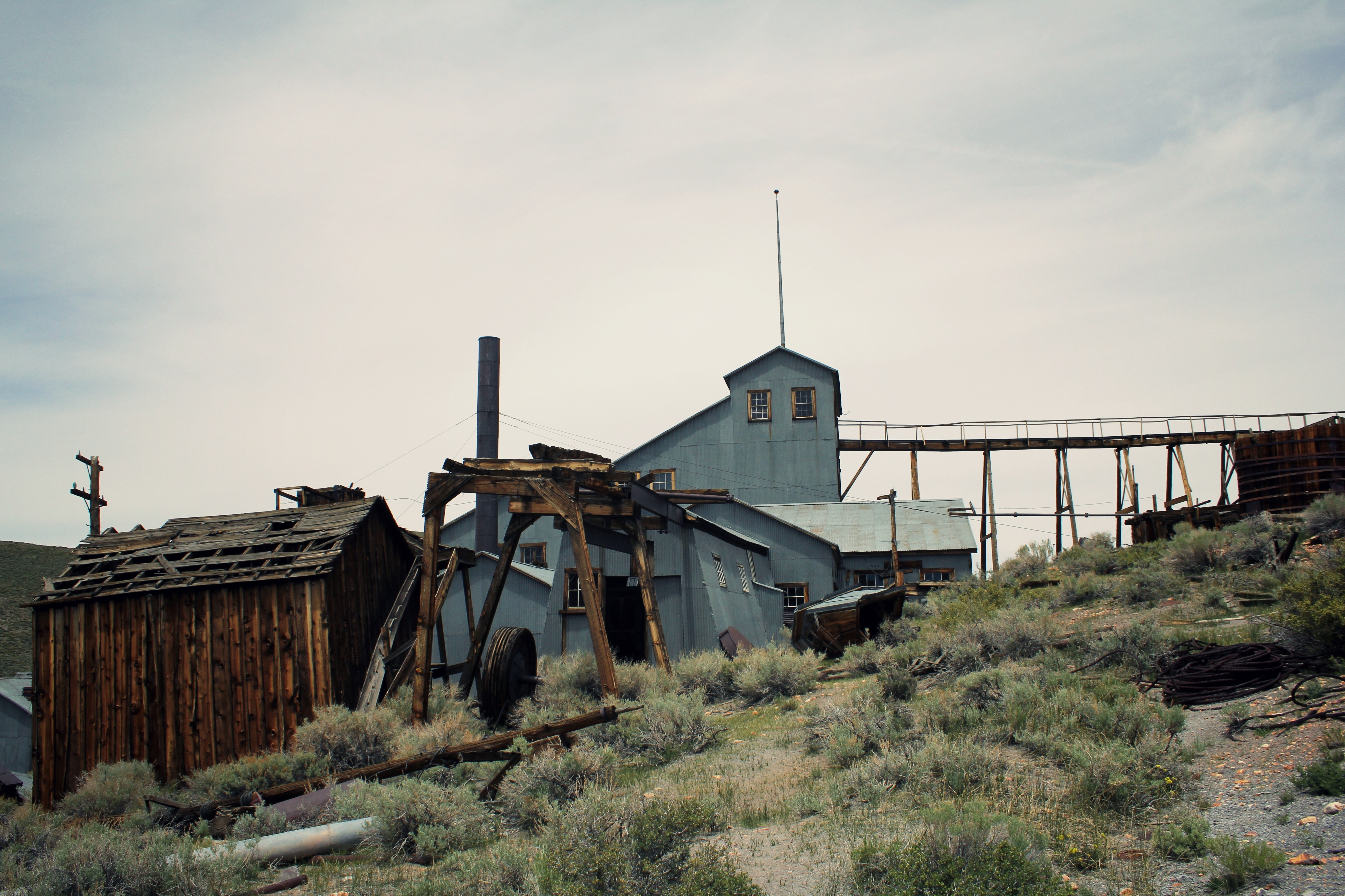 Abandoned Gold Mine, Bodie Ghost Town
