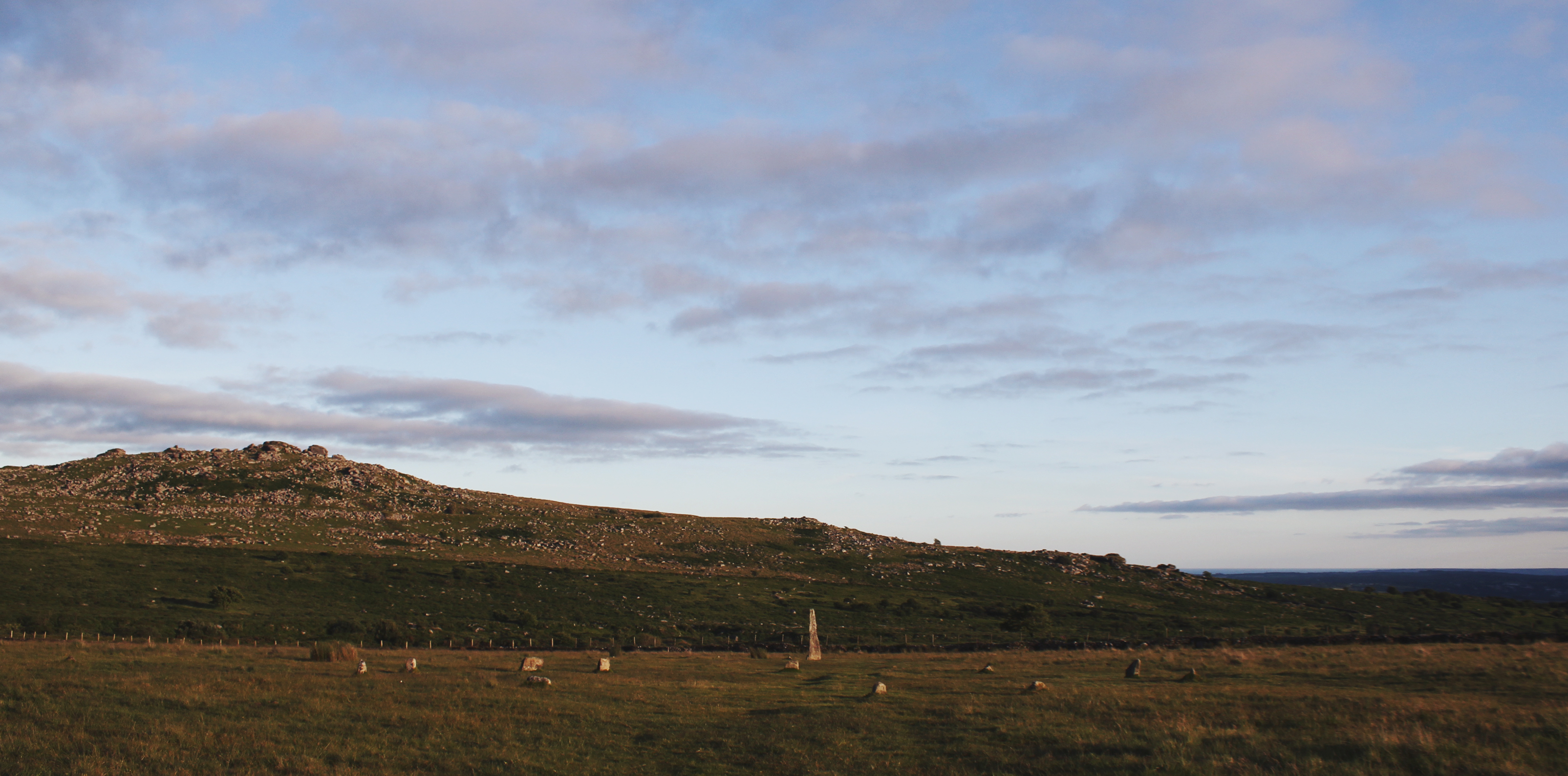 Merrivale Stone Circle and Standing Stone, Dartmoor