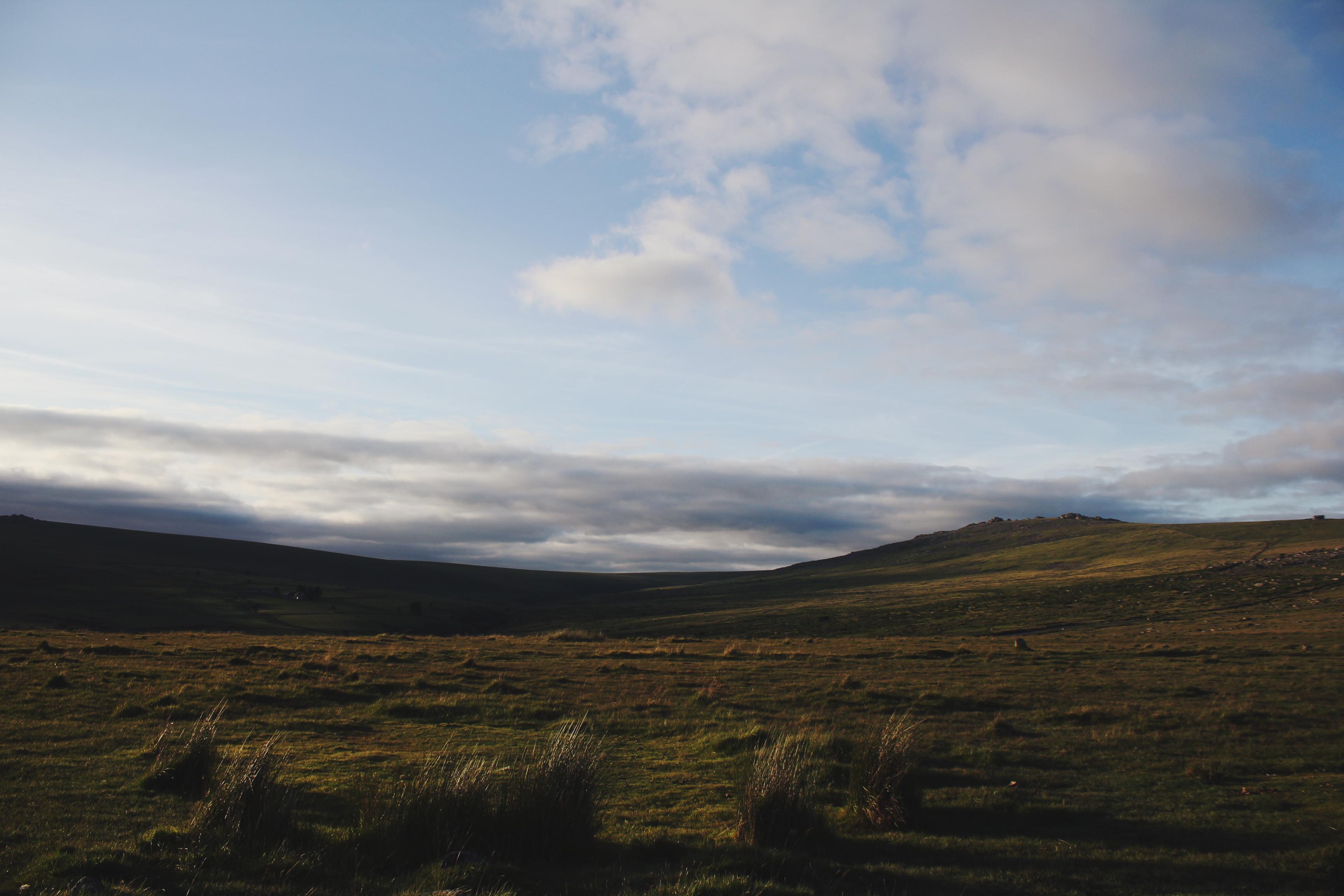 Wild Dartmoor from the Merrivale Stone Complex