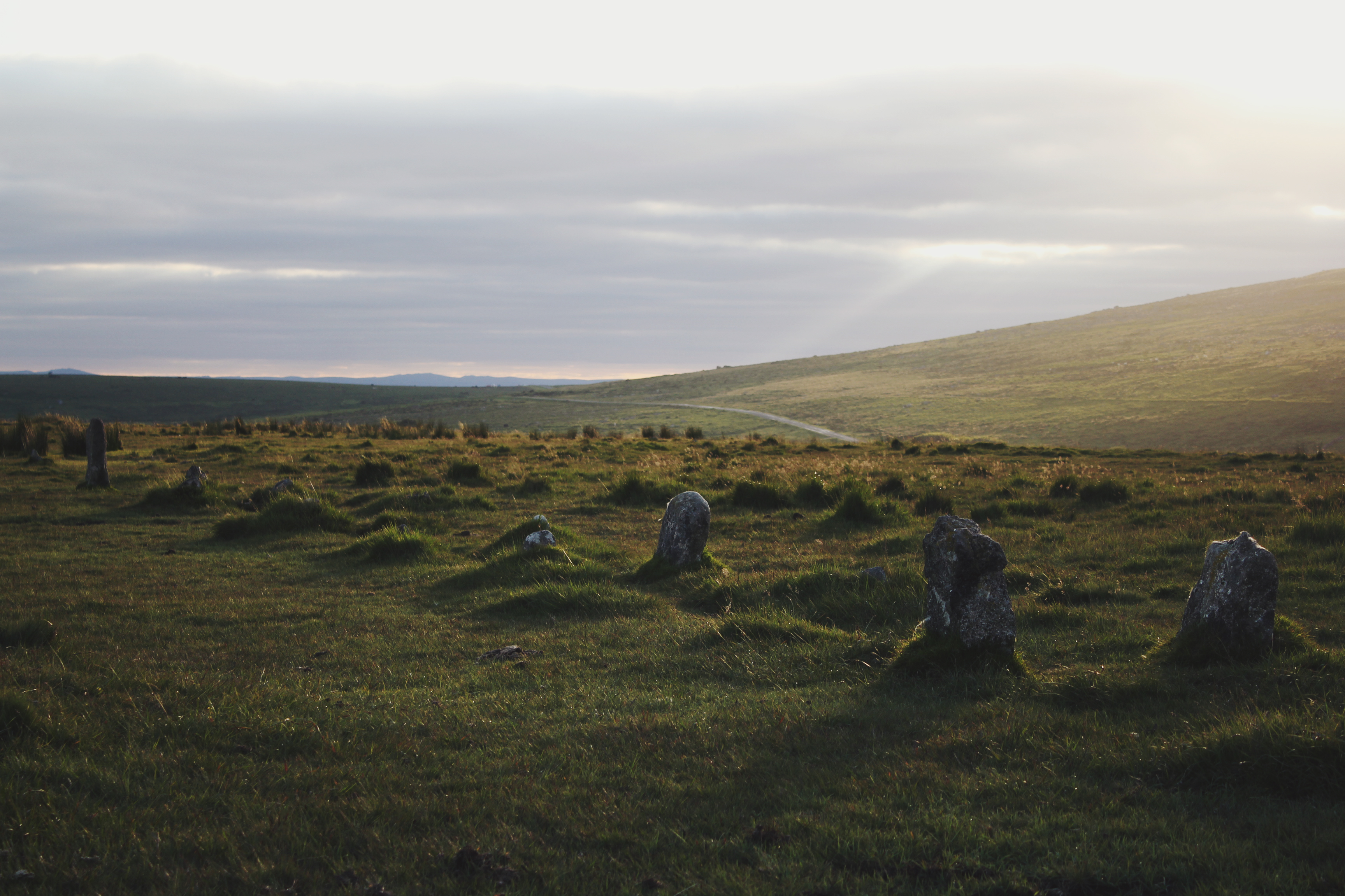 Merrivale Stone Row - The most complete neolithic stone row in the UK