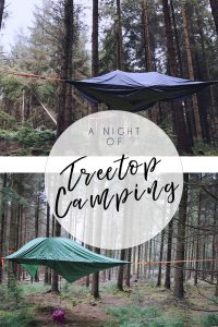 Treetop Camping in the Forest