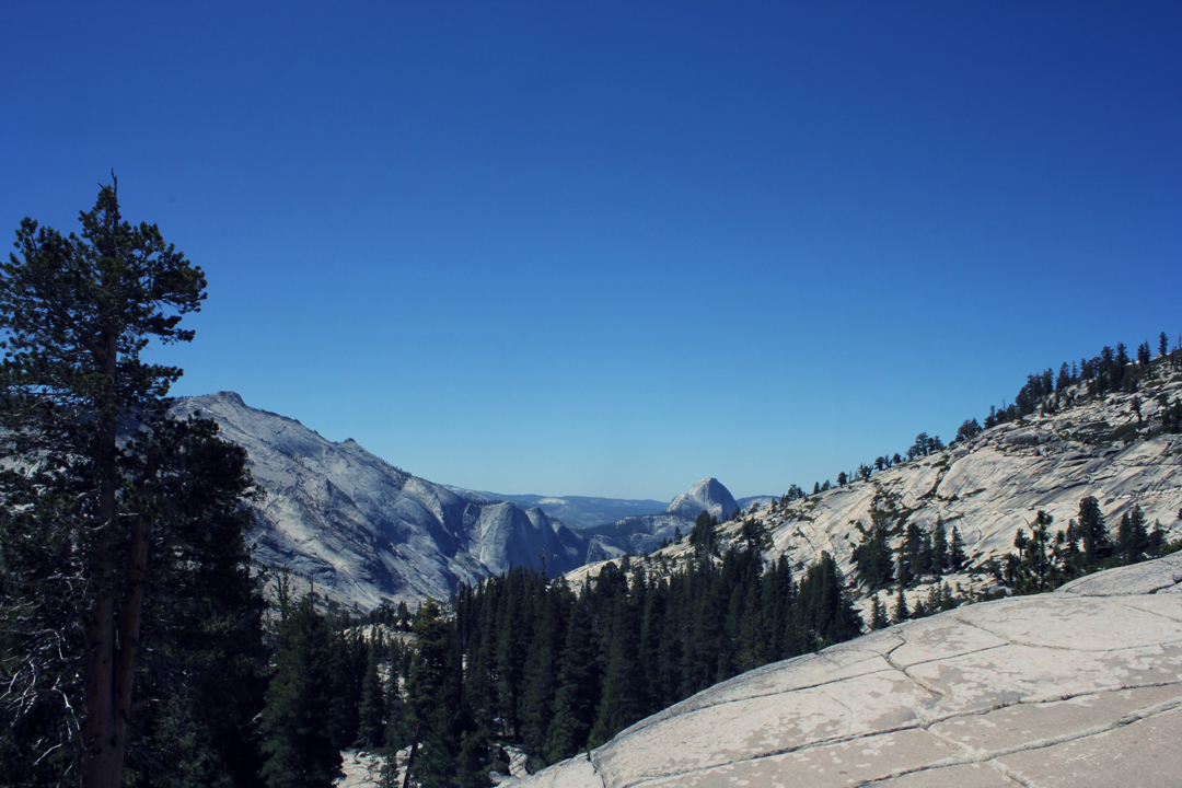 Yosemite Valley from Tioga Pass
