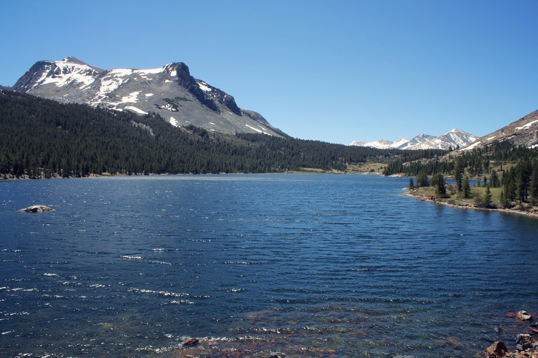 Alpine Lake in Yosemite National Park