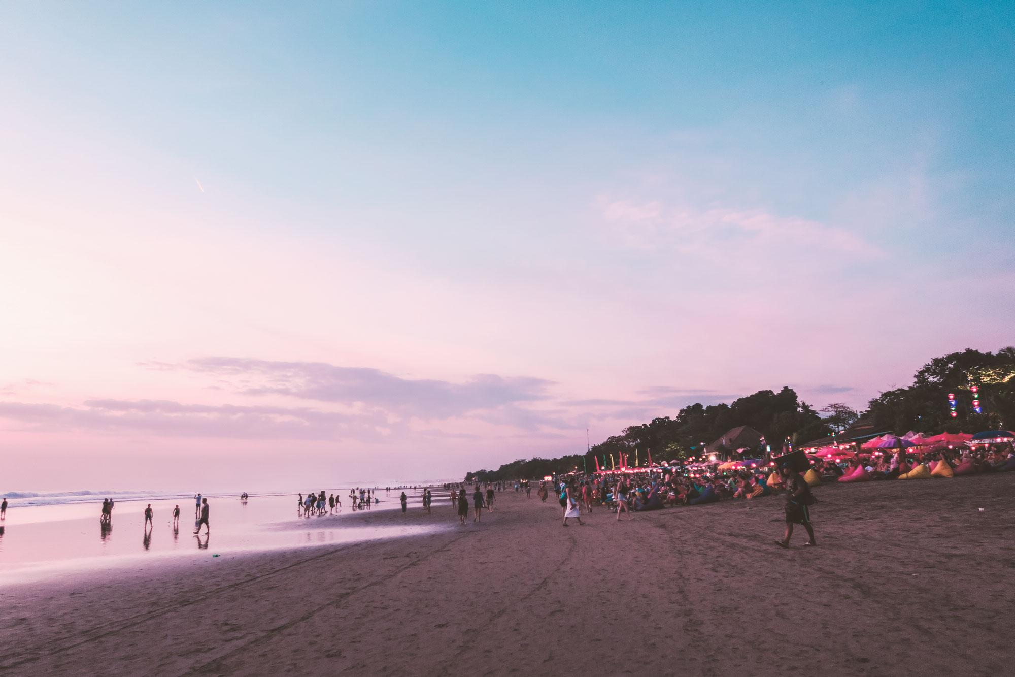 Sunset at Seminyak, Bali