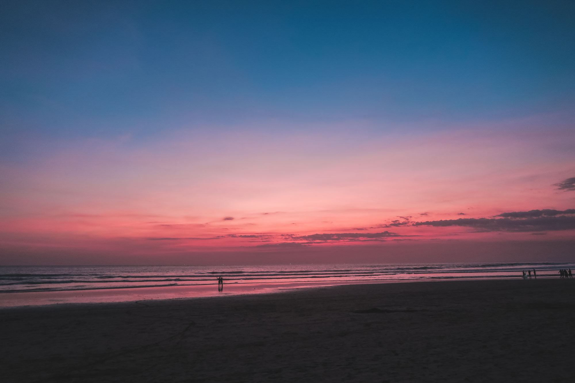 Sunset at Bali Beach