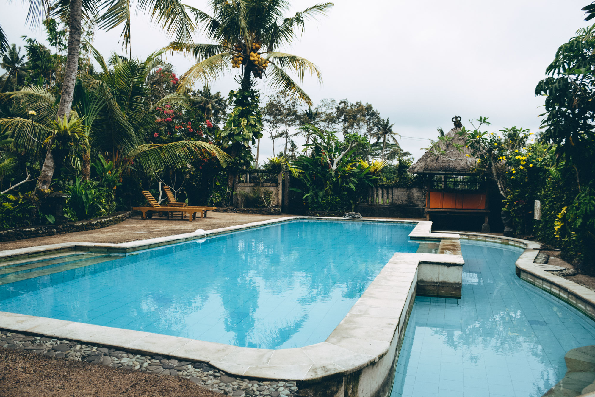 Sri Sunari Guesthouse Pool, Ubud
