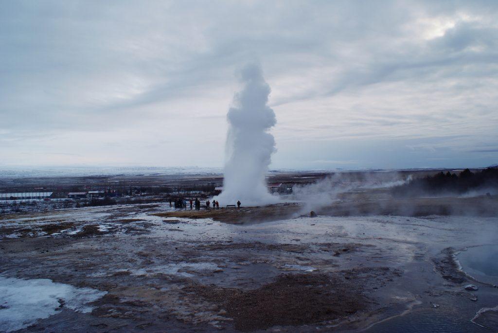 Geysers & Frozen Iceland Waterfalls