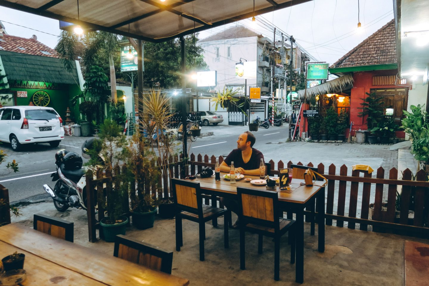 Yogya Streets & Vegan Food