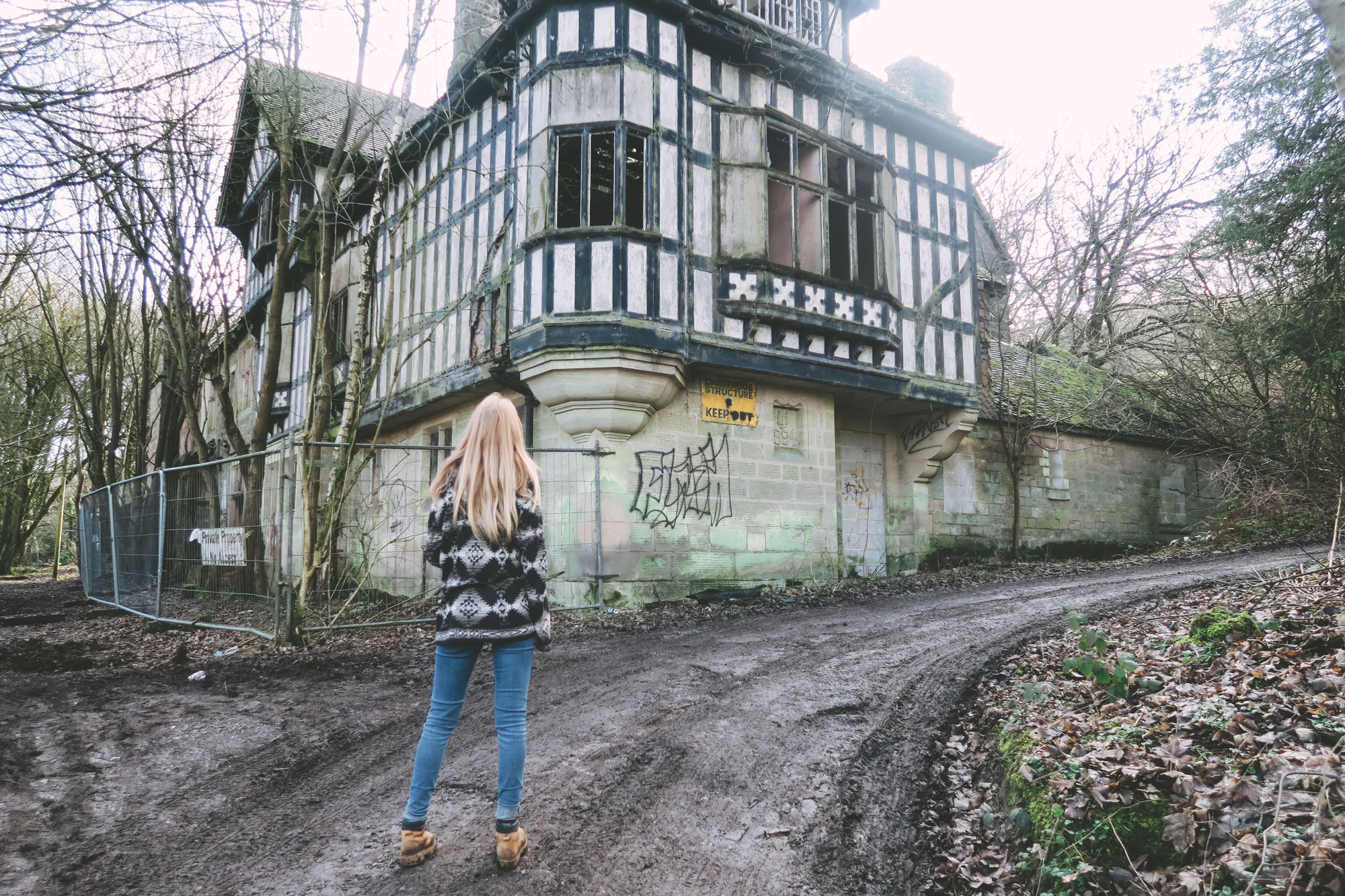 The Abandoned House Shining Cliff Woods Chesca Is Lost