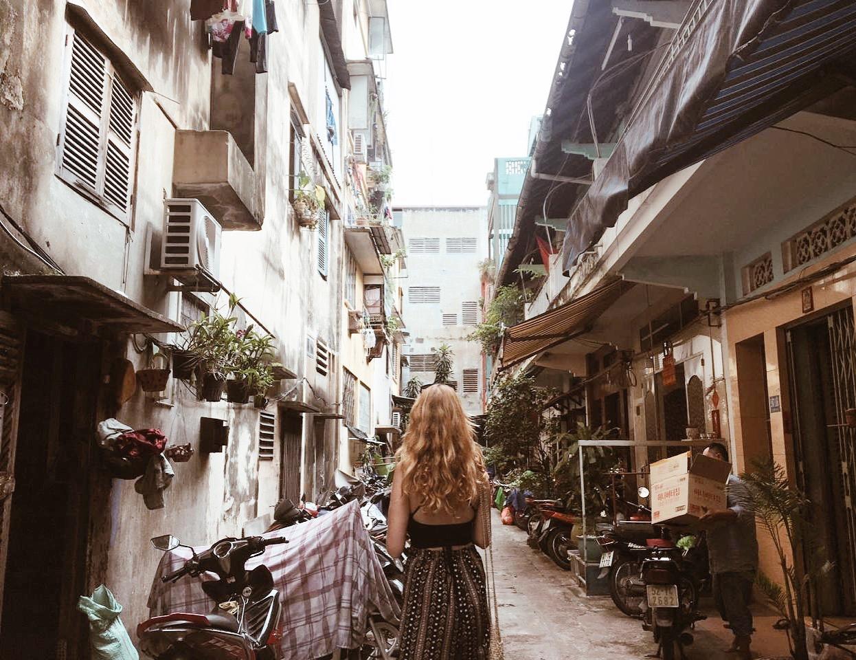 Arriving in Ho Chi Minh City, Vietnam